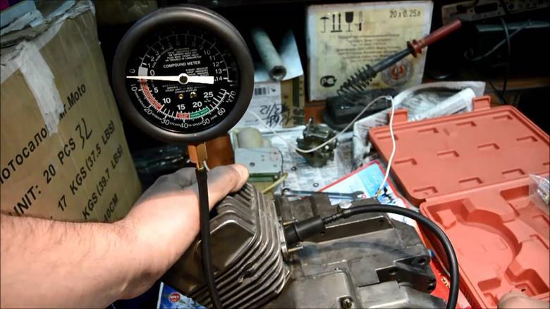 Диагностика двигателя вакуумметром