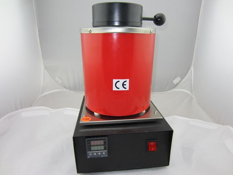 Плавильная индукционная мини печь